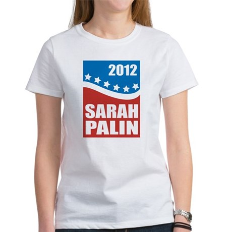 Palin Red White Blue Women's T-Shirt