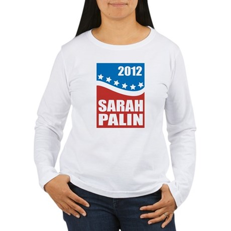 Palin Red White Blue Women's Long Sleeve T-Shirt