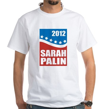 Palin Red White Blue White T-Shirt