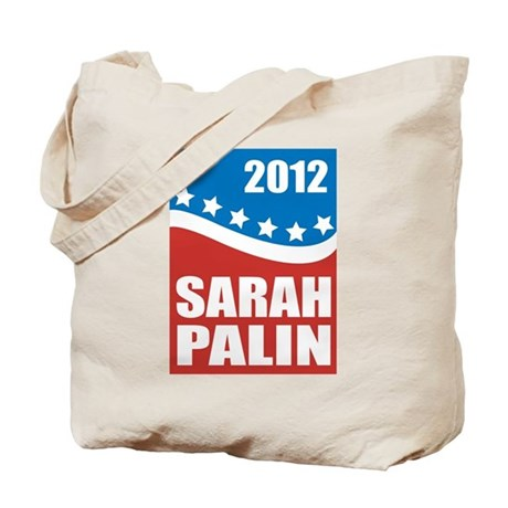 Palin Red White Blue Tote Bag