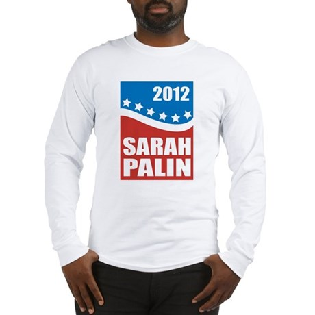 Palin Red White Blue Long Sleeve T-Shirt