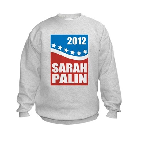 Palin Red White Blue Kids Sweatshirt