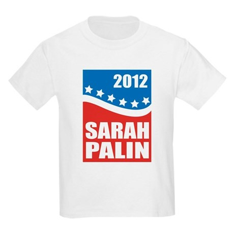 Palin Red White Blue Kids Light T-Shirt