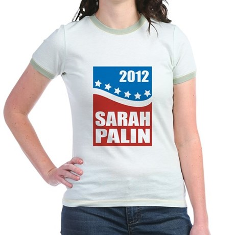 Palin Red White Blue Jr. Ringer T-Shirt