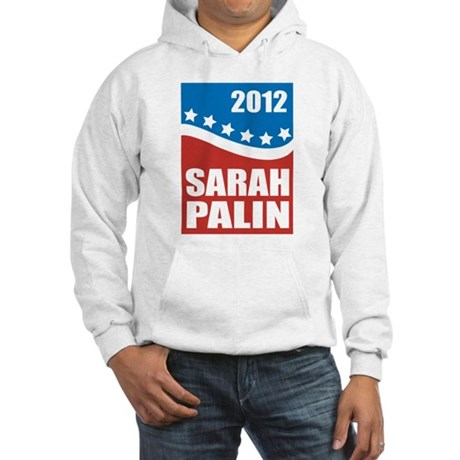 Palin Red White Blue Hooded Sweatshirt