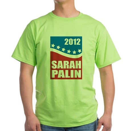 Palin Red White Blue Green T-Shirt