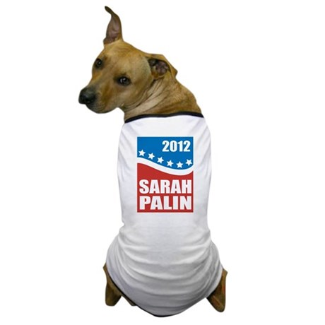 Palin Red White Blue Dog T-Shirt
