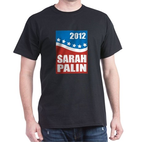 Palin Red White Blue Dark T-Shirt