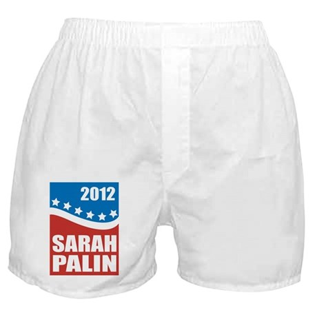 Palin Red White Blue Boxer Shorts