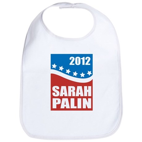 Palin Red White Blue Bib