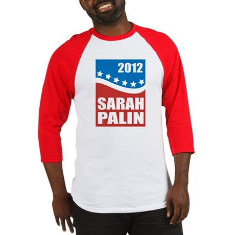 Palin Red White Blue Baseball Jersey