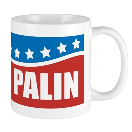 Palin Red White Blue Mug