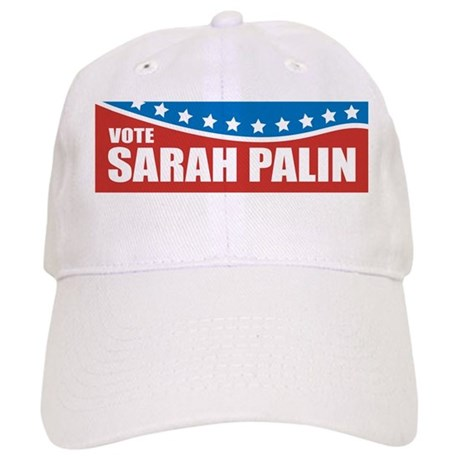 Palin Red White Blue Cap