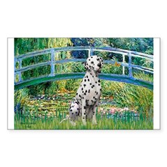 Bridge / Dalmatian #1 Sticker (Rectangle 50 pk)