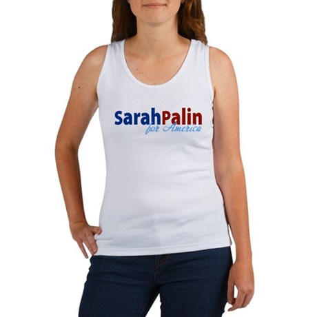 Sarah Palin for America Women's Tank Top