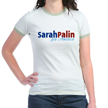 Sarah Palin for America Jr. Ringer T-Shirt