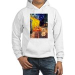 Cafe / Lhasa Apso #9 Hooded Sweatshirt