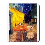 Cafe / Lhasa Apso #9 Mousepad