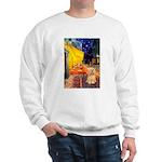 Cafe / Lhasa Apso #9 Sweatshirt