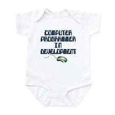 future computer programmer Infant Bodysuit