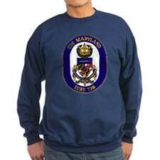 USS Maryland SSBN 738 Sweatshirt
