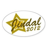 Jindal 2012 Oval Decal