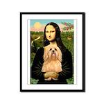 Mona / Lhasa Apso #9 Framed Panel Print