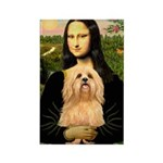 Mona / Lhasa Apso #9 Rectangle Magnet (10 pack)