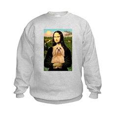 Mona / Lhasa Apso #9 Kids Sweatshirt