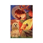 Mandolin / Lhasa Apso #9 Rectangle Magnet