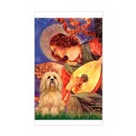 Mandolin / Lhasa Apso #9 Sticker (Rectangle)