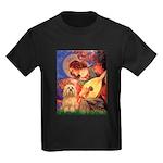 Mandolin / Lhasa Apso #9 Kids Dark T-Shirt