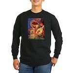 Mandolin / Lhasa Apso #9 Long Sleeve Dark T-Shirt