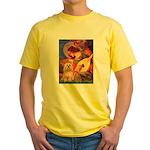 Mandolin / Lhasa Apso #9 Yellow T-Shirt