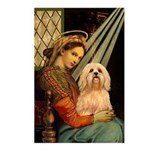 Madonna / Lhasa Apso #9 Postcards (Package of 8)