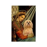 Madonna / Lhasa Apso #9 Rectangle Magnet (10 pack)