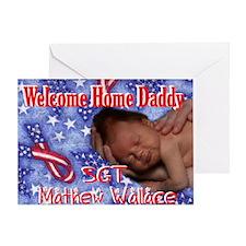 Mathew Wallace Greeting Card