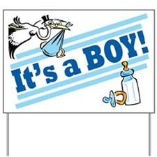 It's A Boy! Baby Announcement Yard Sign