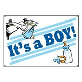 It's a Boy! Giant Banner