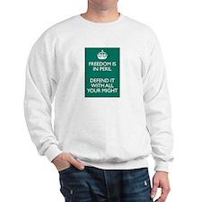 Freedom in Peril Sweatshirt