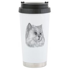Persian Cat Ceramic Travel Mug