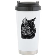 Tortoise Short-Hair Cat Ceramic Travel Mug