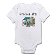 Grandma's Helper (Computer) Infant Bodysuit