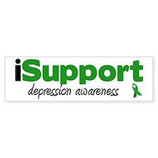 iSupport Depression Bumper Bumper Sticker