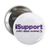 "iSupport Crohn's Disease 2.25"" Button"