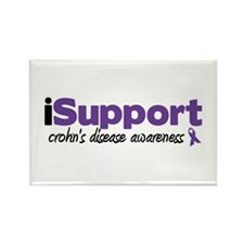iSupport Crohn's Disease Rectangle Magnet (100 pac