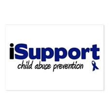 iSupport Child Abuse Postcards (Package of 8)