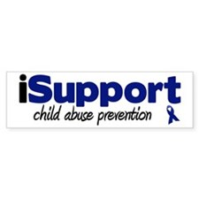 iSupport Child Abuse Bumper Bumper Sticker