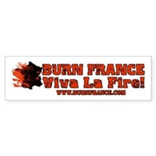 Burn France Bumper Bumper Sticker