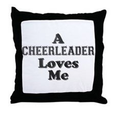 Cute Sports cheer Throw Pillow